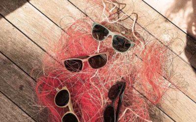 Des solaires éthiques à base de filets de pêche recyclés